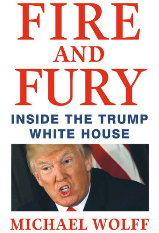 Cover of Fire and Fury Inside the Trump White House