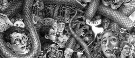 Brian Selznick Harry Potter Covers Image, Part 1