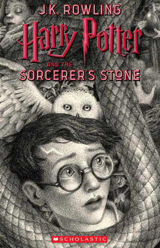 Harry Potter Covers by Brian Selznick