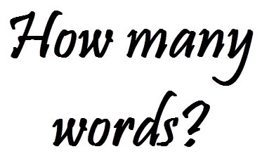 How Many Words?