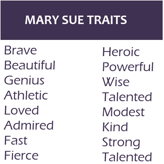 Mary Sue Character Traits