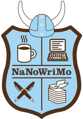NaNoWriMo Coat of Arms