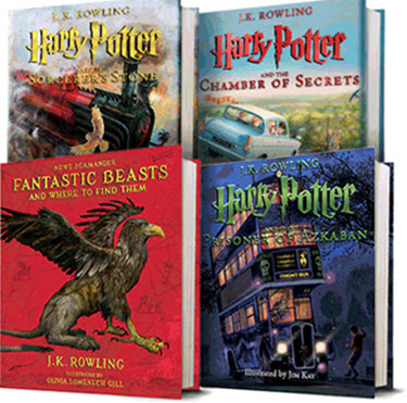 Harry Potter Illustrated Set