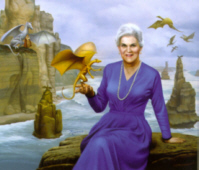 Photo of Anne McCaffrey