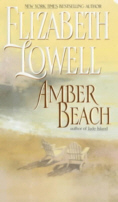 Cover of Amber Beach by Elizabeth Lowell