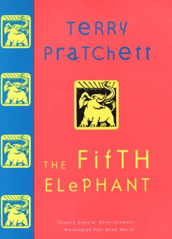 Cover of The Fifth Elephant by Terry Pratchett