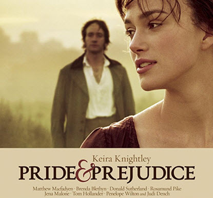 Pride and Prejudice movie starring Keira Knightley