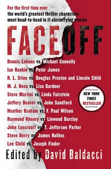 Face Off thriller short story collection