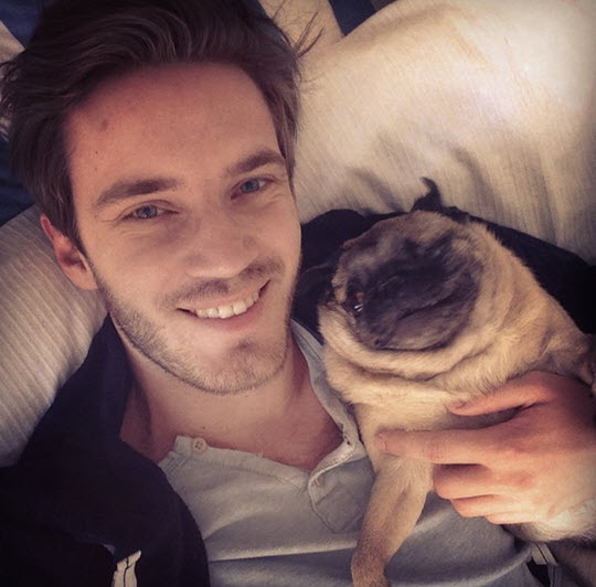 Photo of Felix Kjellberg