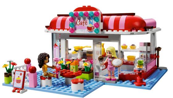 Lego Friends cafe set