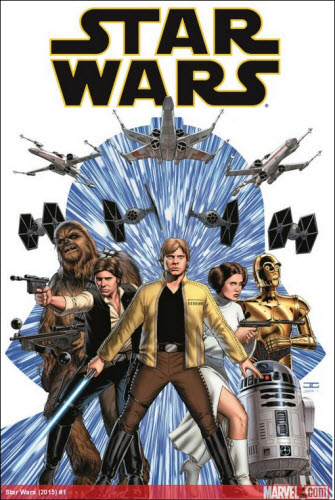 Marvel's Star Wars #1 Comic Book