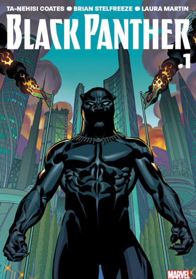 Blank Panther #1 2016