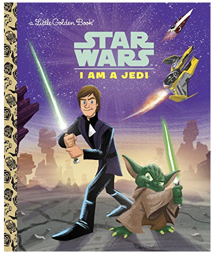 I Am a Jedi from Golden Book Star Wars
