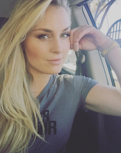 Lindsey Vonn selfie
