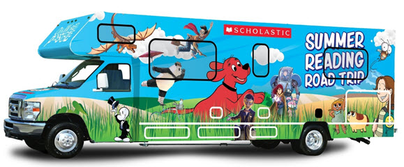 Scholastic Summer Reading Road Trip RV