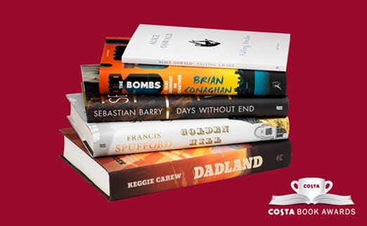 2016 Costa Book Awards Category Winners