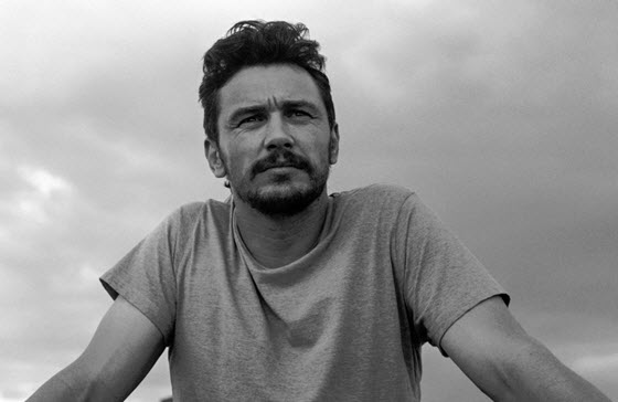 James Franco cloudy day photograph
