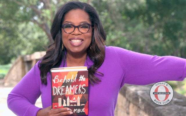 Oprah picks Behold the Dreamers by Imbolo Mbue