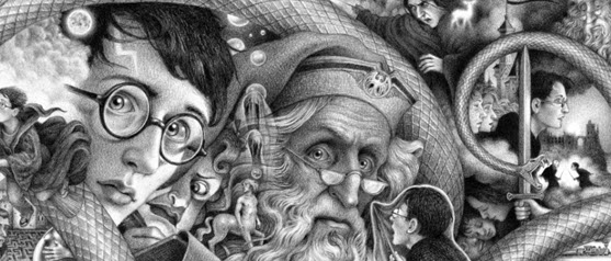 Brian Selznick Harry Potter Covers Image, Part 2