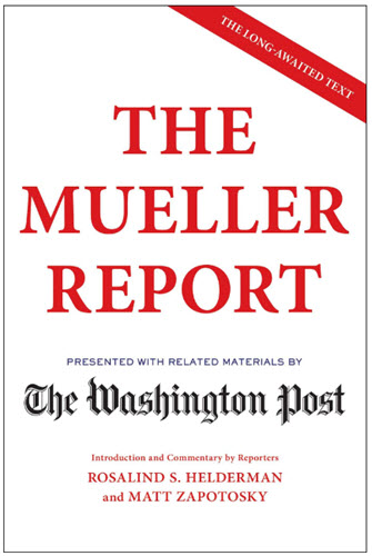 The Washington Post to Publish Mueller Report Book