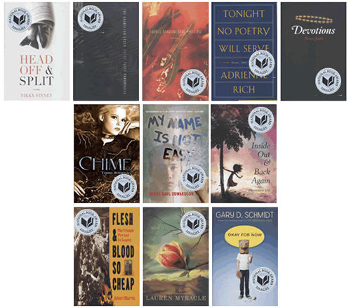 2011 National Book Award Finalists