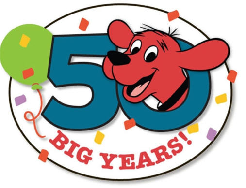 clifford the big red dog 50th anniversary