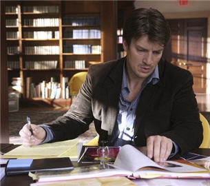 Nathan Fillion is Richard Castle