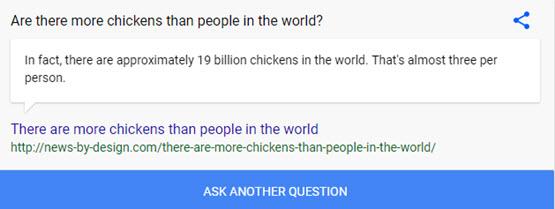 Google Random Facts Trick