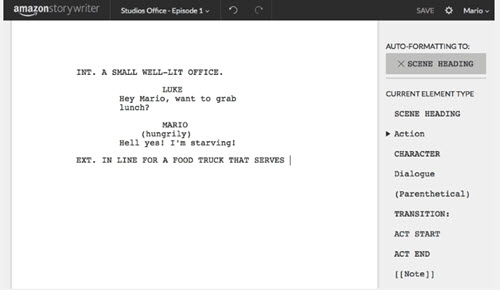 free screenwriting software