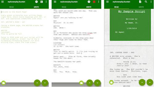 free screenwriting software