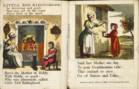The Little Red Riding Hood 1810 chapbook